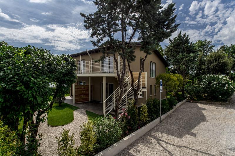 Lejligheder for at holde ferie ved Gardasøen: den første miljøvenlig residens